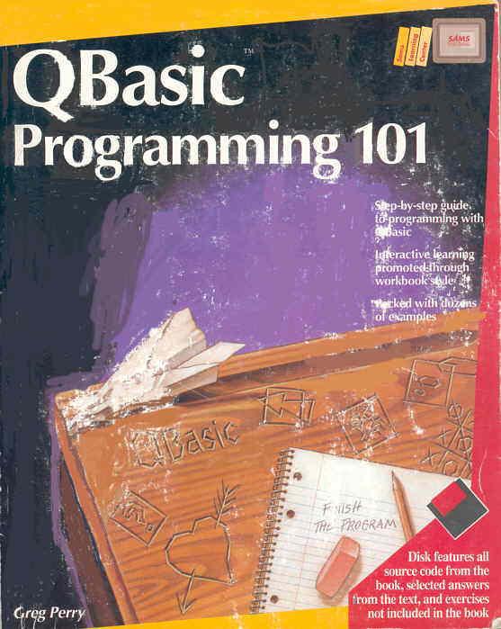 Qbasic and quickbasic book reviews buch besprechungen qbasic programming 101 bild vergrern bild vergrern fandeluxe Image collections